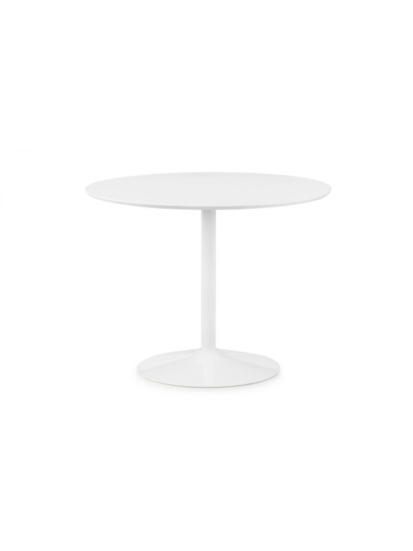 julian bowen Blanco Round Table - White