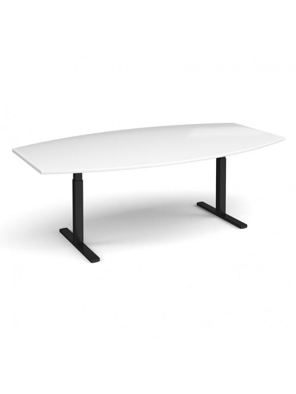 DAMS Elev8 Touch radial boardroom table