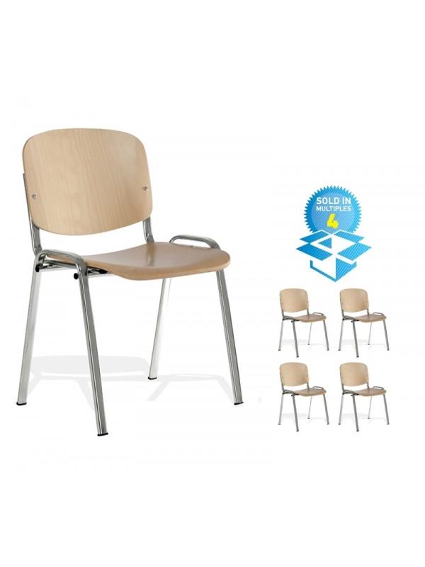 Taurus Wood Chair (box of 4)