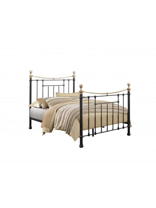 Birlea Bronte Metal Bed Frame black or cream