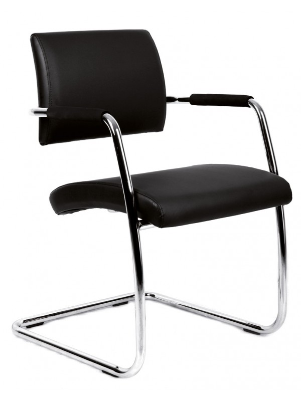dams Bruges meeting room cantilever chair