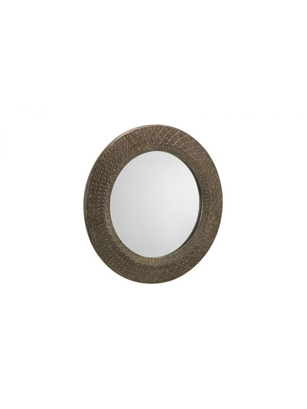julian bowen Cadence Round Wall Mirror - Small