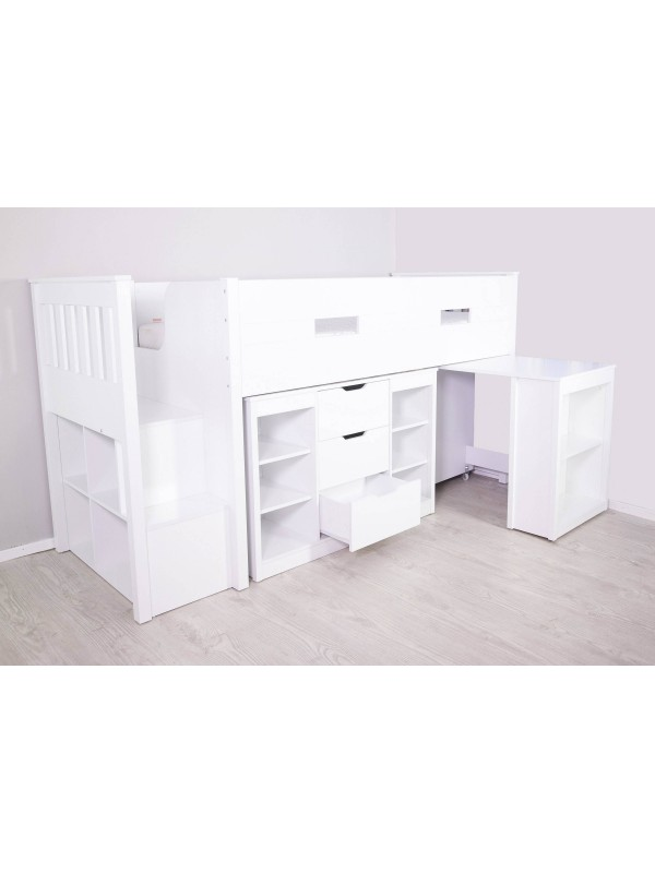 Flair Charlie Mid Sleeper with Storage