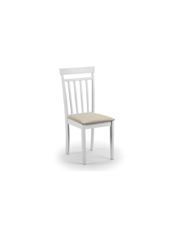 julian bowen Coast White Dining Chair