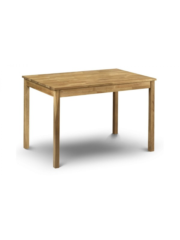 julian bowen Coxmoor oak rectangular dining table