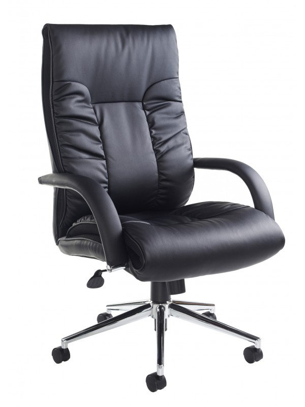 Derby leather executive chair