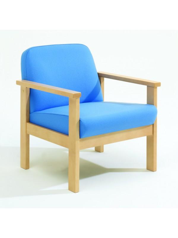 Alliance 7000 Beech Frame Low Back Armchair