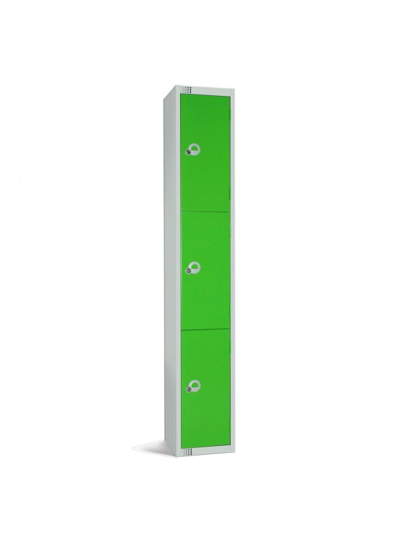 Metal 3 Door Personal Storage Locker