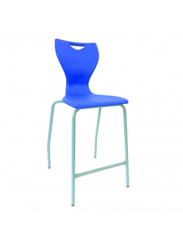 EN70/71 Ergonomic High Chair - light grey frame