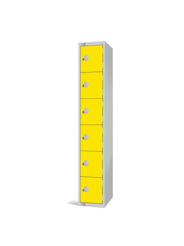 Metal 6 Door Personal Storage Locker