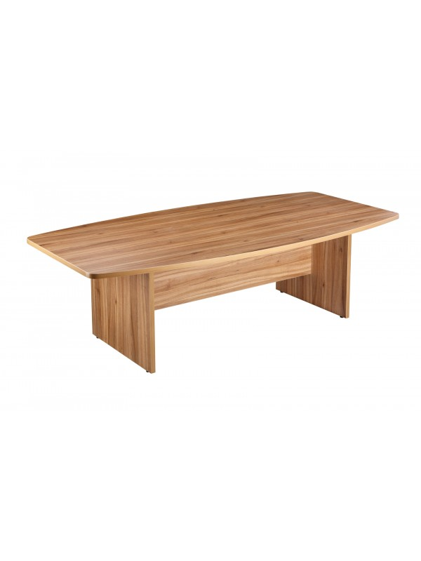 Boat Shaped Boardroom Table 2400mm Long