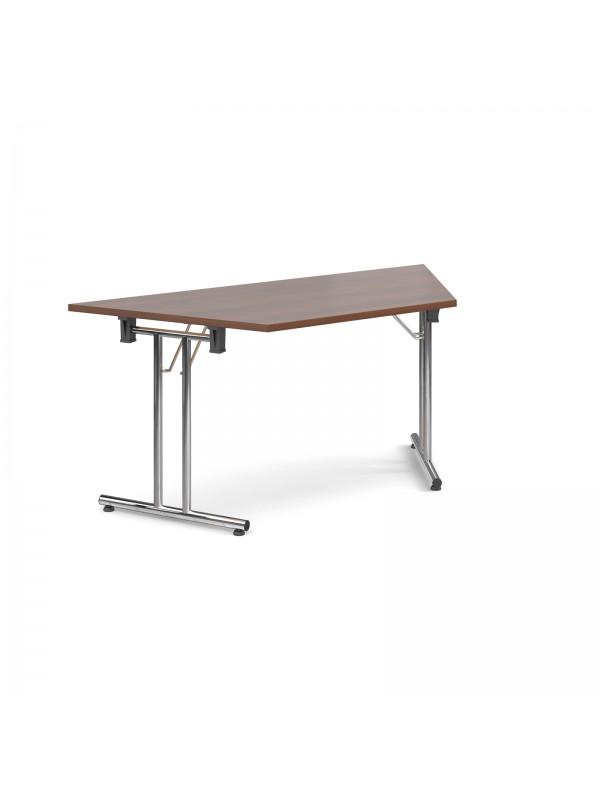 Folding Leg Trapezoidal Table
