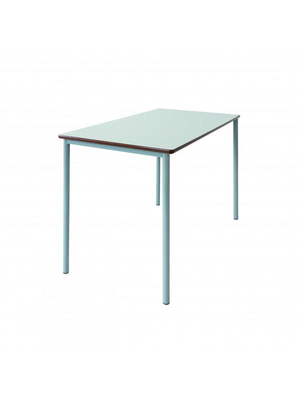 Spaceforme Grade Four Leg Double Table - MDF Edge