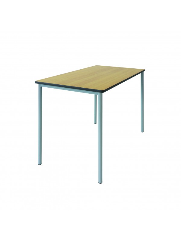 Spaceforme Grade Four Leg Double Table - PU Edge