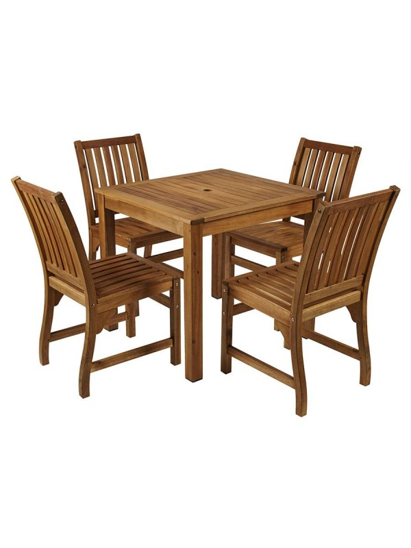 ZAP Hardy Solid Wood Dining Set