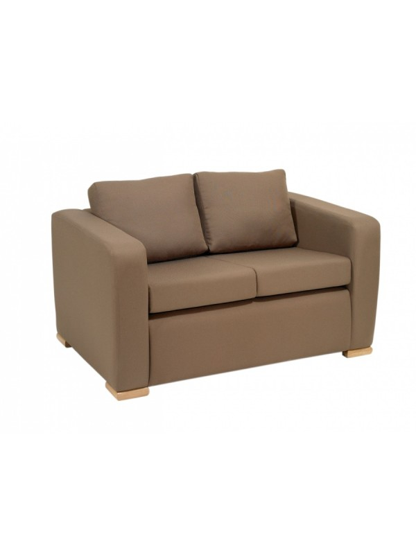 Alliance Phoenix 2 Seater Settee with Arms (Chrome Glides as Standard)