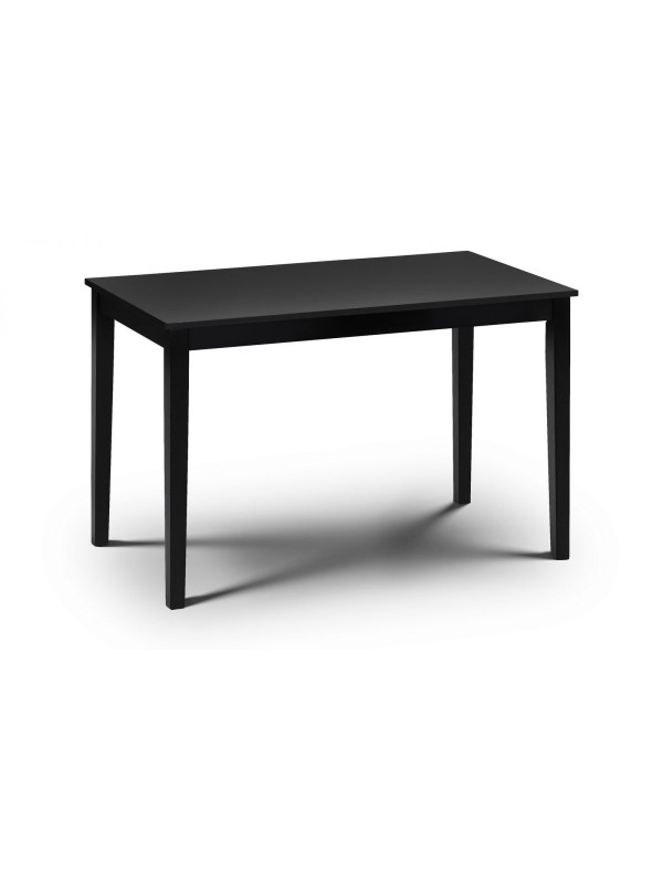 julian bowen Hudson Black Dining Table