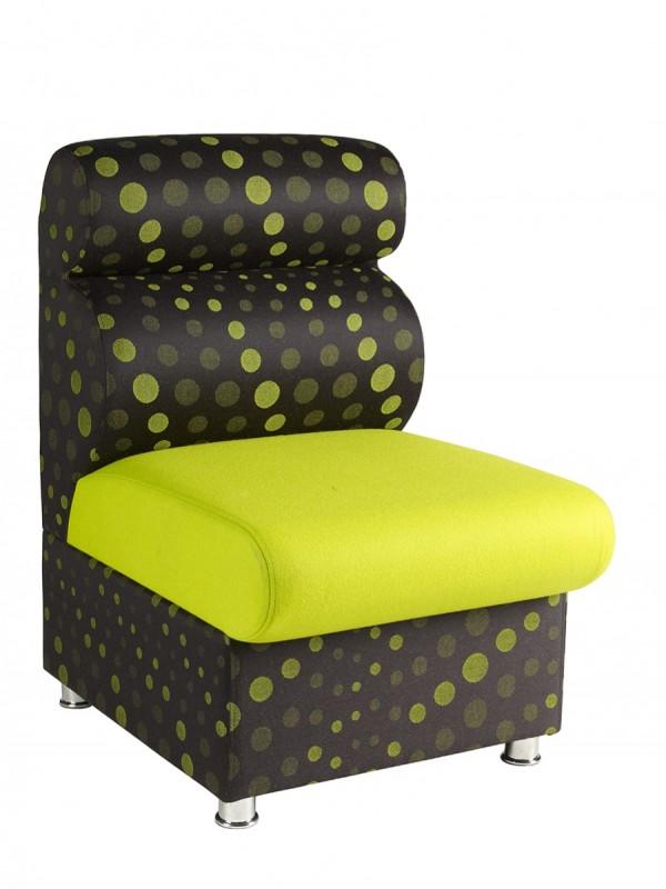 Alliance Dolfin Chair No Arms (Chrome Glides as Standard)