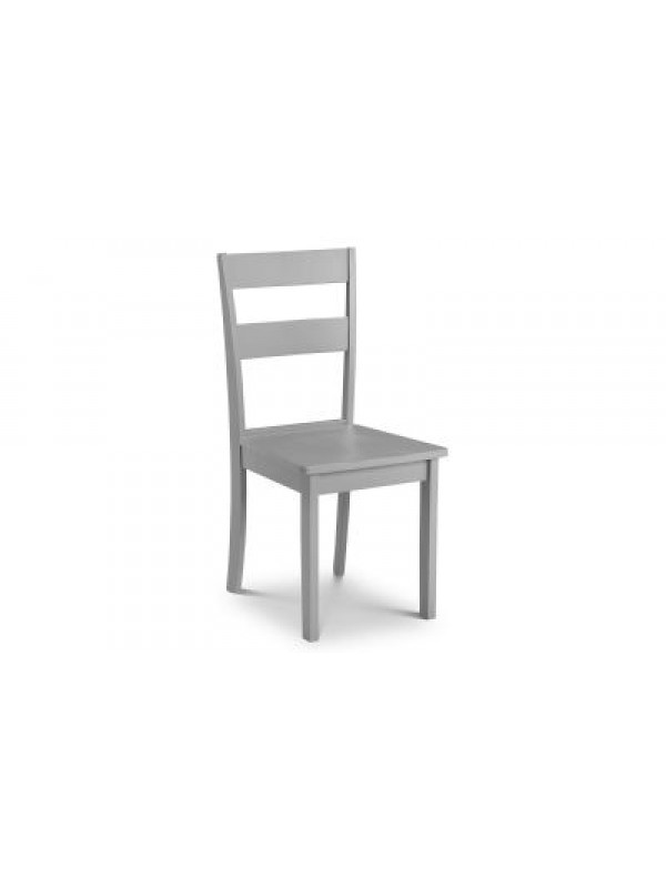 julian bowen Kobe Grey Dining Chair