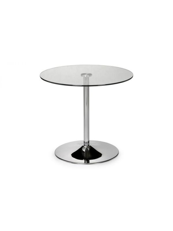 julian bowen  Kudos Glass Pedestal Table