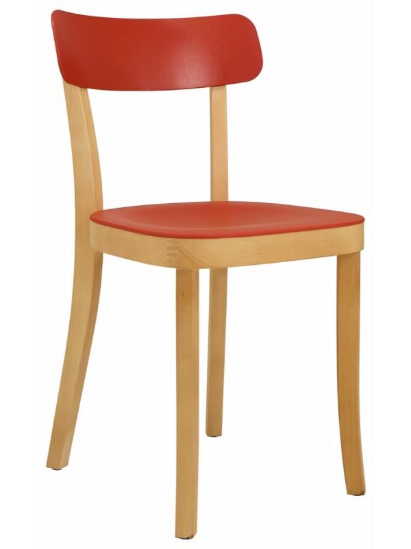 Elite Latte Wooden Breakout Chair