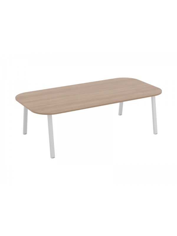 Linnea Double D Ended Conference Table 2400mm