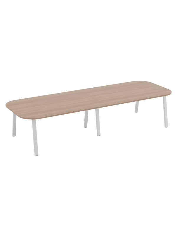 Linnea Double D Ended Conference Table 4800mm