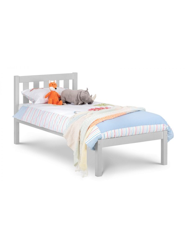 Julian Bowen Luna wooden Bed - Dove Grey