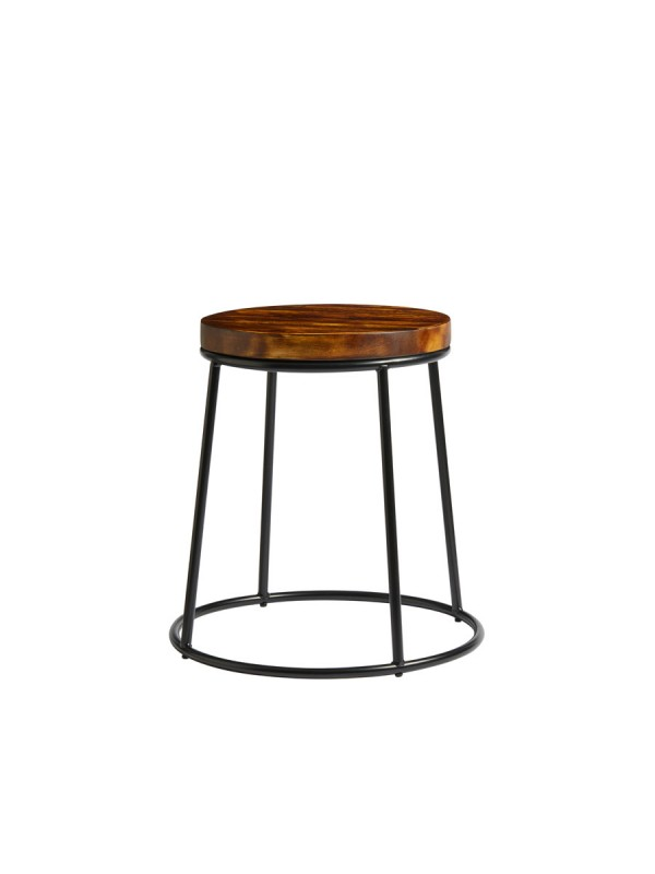 ZAP Industrial style Low high stool 32mm
