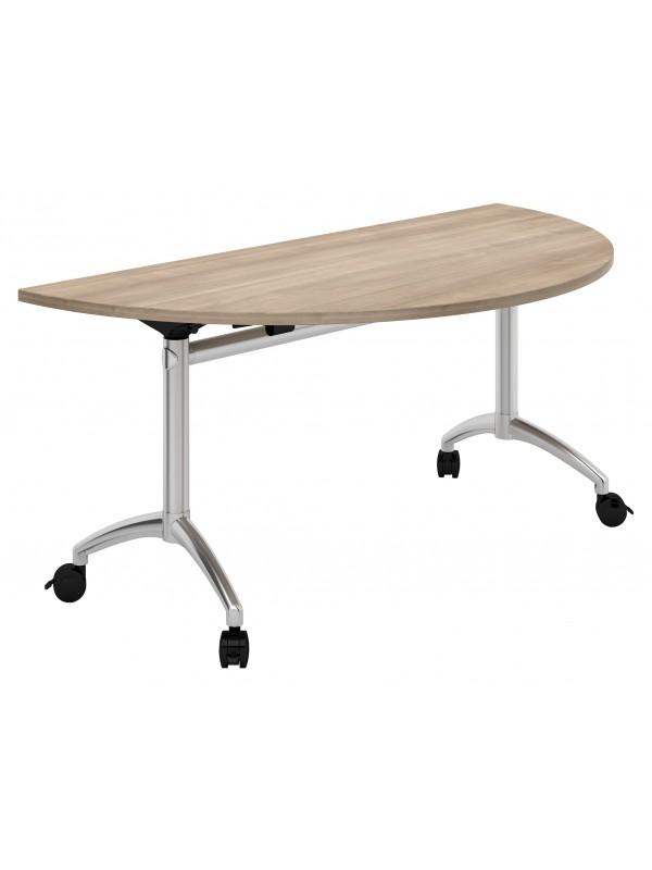 Fliptop Semi-circular Table