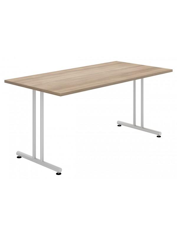 Elite Folding Rectangular Table With Straight Legs