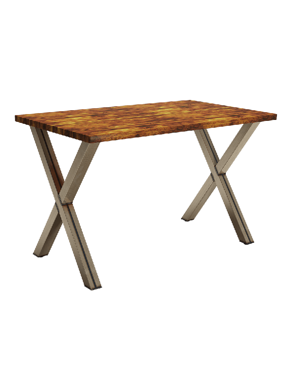 ZAP Industrial style Milton Rectangular table