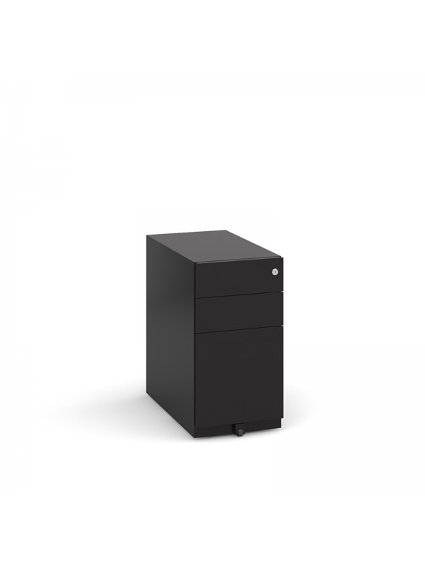 BIG DEALS Steel 3 Narrow Drawer Pedestals