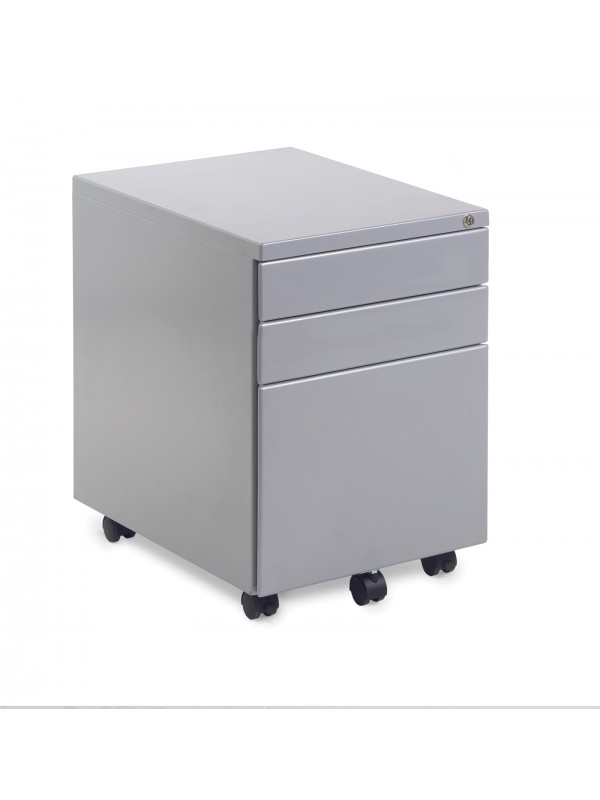 BIG DEALS Steel 3 Drawer Pedestals