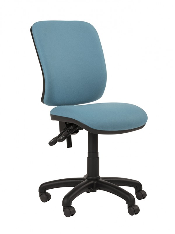 Alliance TIMP Squared Back Operator Chair (Twin Lever on Castors)
