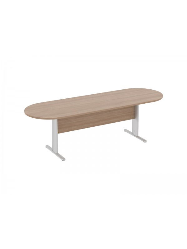 Elite Optima Plus Double D Ended Meeting Table