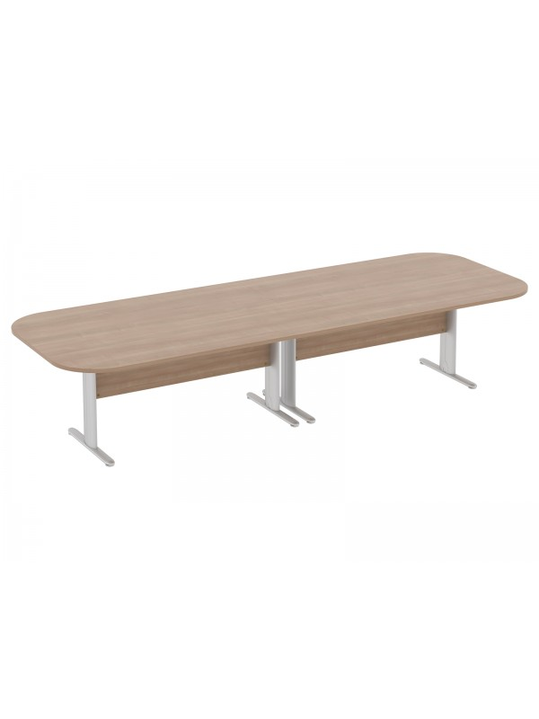 Optrima Plus Double D Ended Conference Table