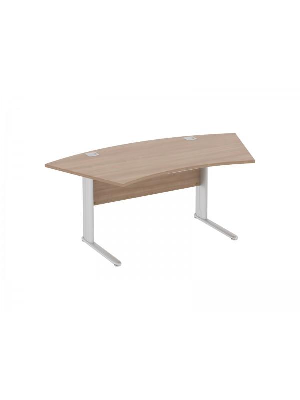 Elite Optima Plus Fixed Height Radius Reception Desk