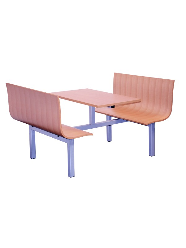 Atlantic Modular Canteen Unit Fast food  4 or 6 seat Heavy Duty 7 days delivery