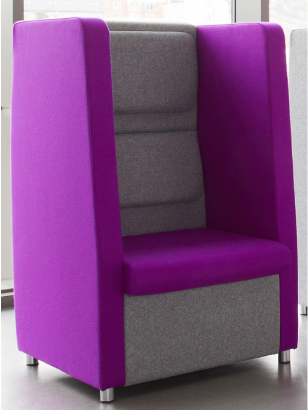 mdk retreat 1 person booth seat