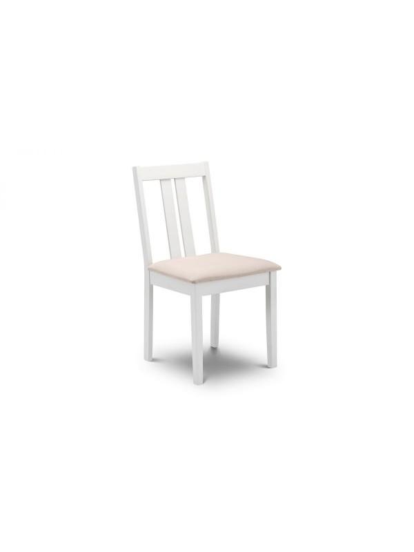 julian bowen Rufford dining chair - ivory