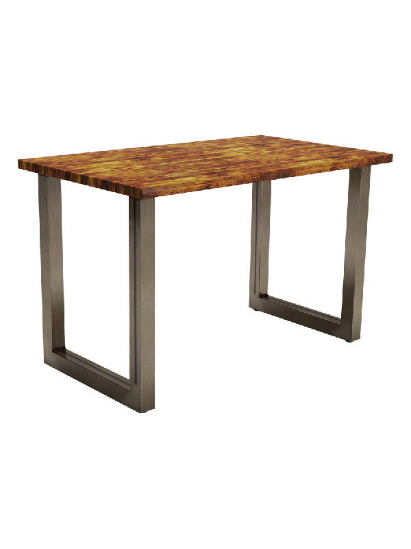 ZAP Industrial style Rum Rectangular table