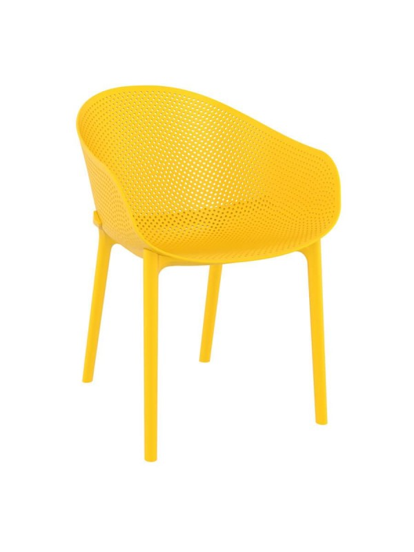 Zap Sky Recycled plastic Armchair - 5 Colours