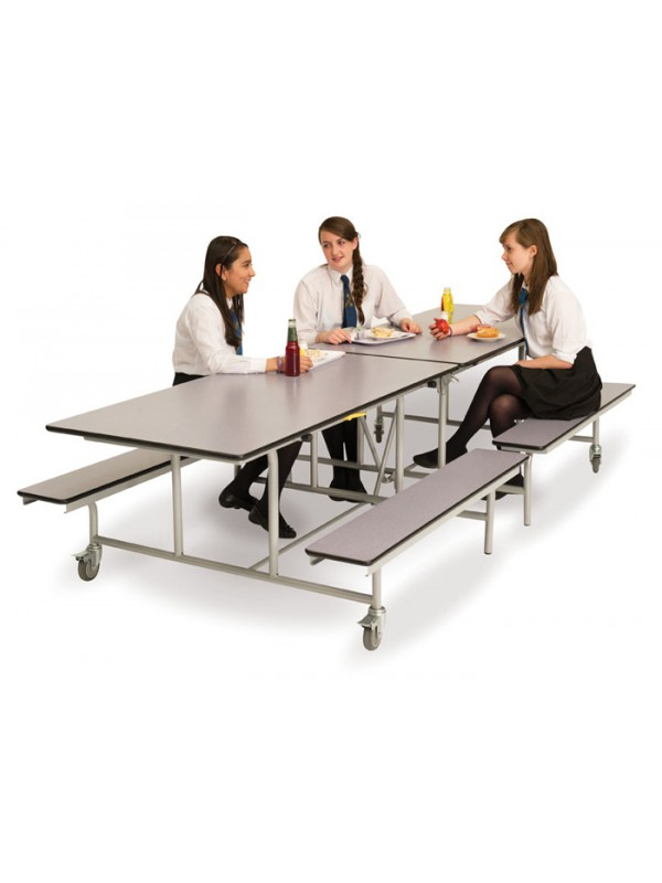 Spaceright Mobile Folding Bench 12-16 Seat