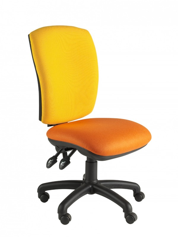 Alliance SIMP Squared Back Operator Chair (Twin Lever on Castors)