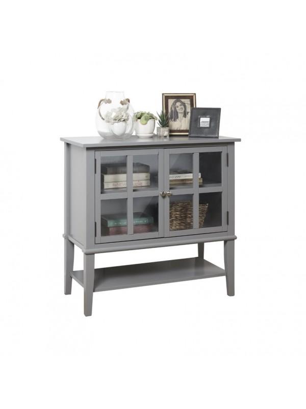 Dorel Franklin 2 door storage cabinet in White or grey or black