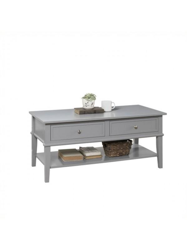 Dorel Franklin Coffee table in white or black or grey