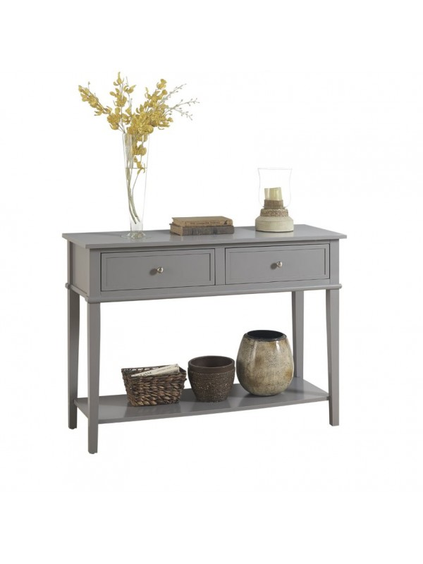 Dorel Franklin Console table (sofa table) White or black or grey