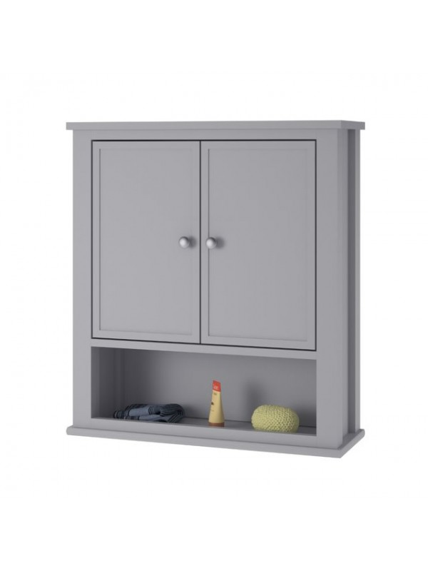 Dorel Franklin Wall cabinet in white or grey