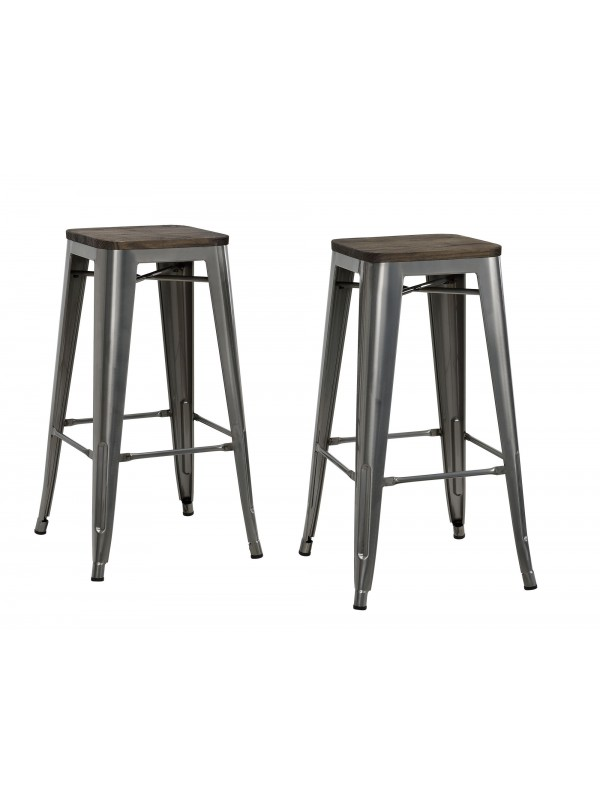 Dorel Fusion barstool in Gun metal or Black
